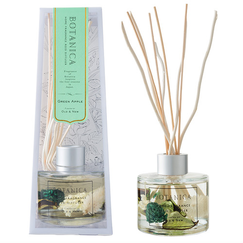 REED DIFFUSER (110ml) - GREEN (Green Apple)