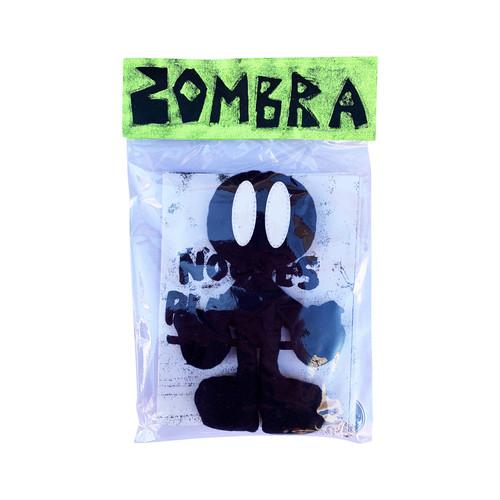 ZOMBRA PlushToy -mini zine. sticker.badge set-