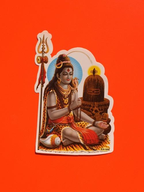 Om namah shivaya 瞑想ステッカー