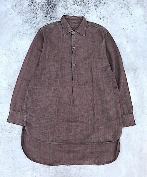 Grandfather Shirts / ヴィンテージ シャツ チェック (UT-465)