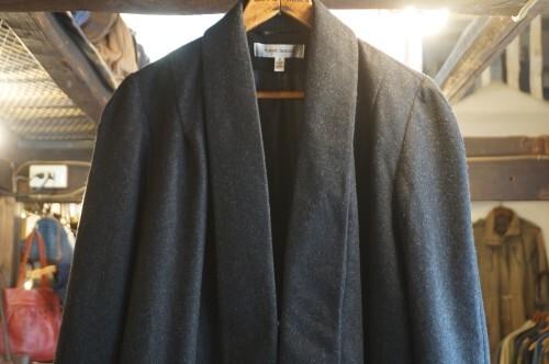 00's Harve Benard charcoal haori Coat
