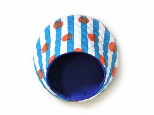 ハリちゃんのおやすみベッド(夏用) キャンディー ブルー / Hedgehog bed for summer