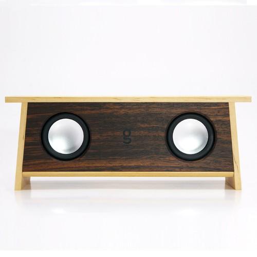 【ナチュラルな木のBluetooth スピーカー】SPiKO-BT Aisia-Rosewood/スピコノ・ ブルートゥース・ アジア・ローズウッド(Bluetooth スピーカー)