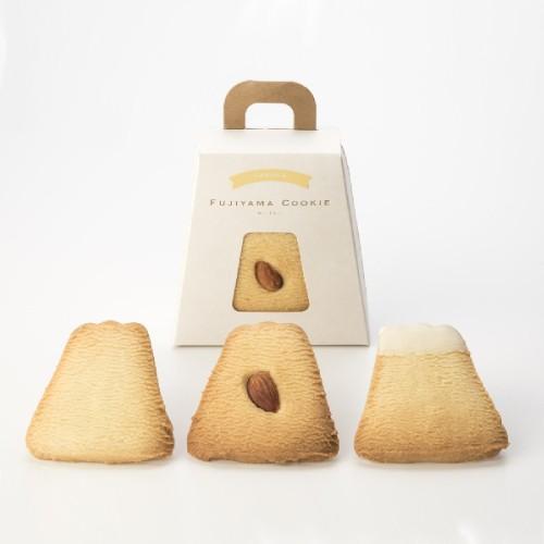 フジヤマクッキー 3枚入り バニラ