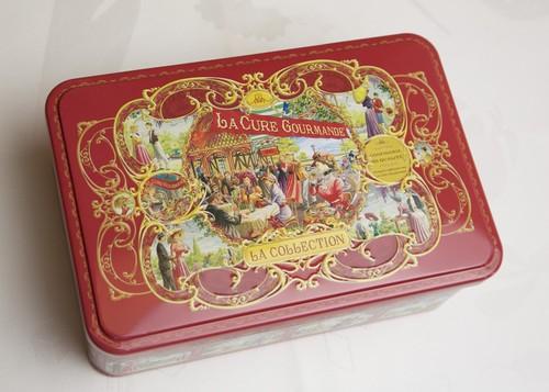 Tin缶『LA CURE GOURMANDE』赤