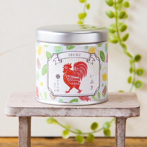 狭山茶 いぶき(50g缶パッケージ)/目覚めの朝に緑茶ですっきり!並べて可愛いお茶缶かん♪/SAYAMA TEA 【Ibuki 50g Canister】