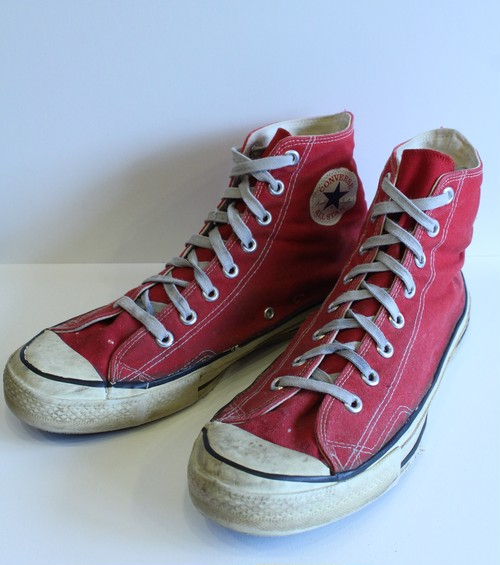 "1980's Converse All Star Made in U.S.A  ""Stitched"""