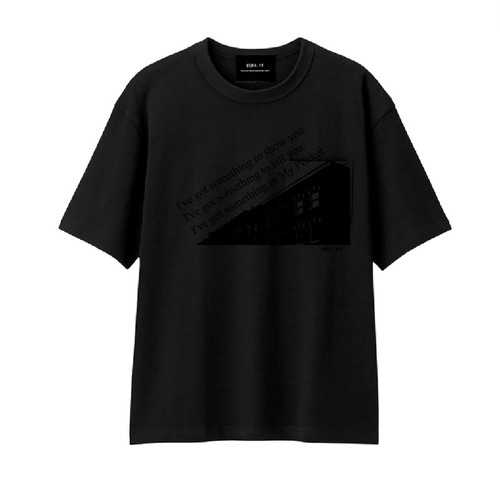 ILL IT - THE PLACE T-SHIRT (BLACK)