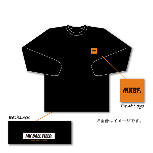 CHACE YOUR DREAM 001 ロングスリーブT-shirt