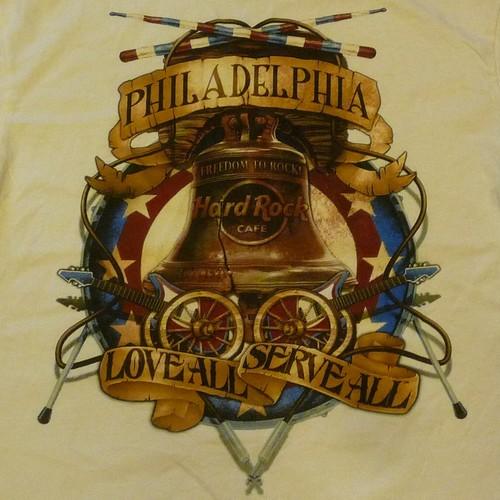 Hard Rock CAFE PHILADELPHIA Tシャツ ★クリックポスト(日本郵便)利用で送料無料 !!