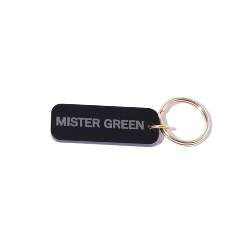 MISTER GREEN KEY TAG(BLACK)