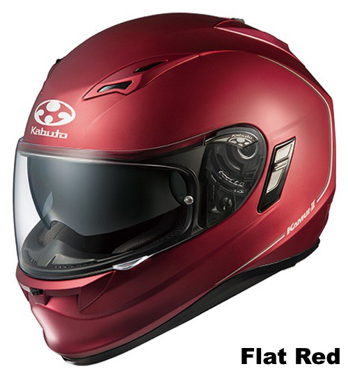 OGK KAMUI 2 flat red