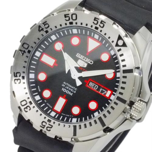 セイコー セイコー5 ファイブスポーツ 日本製 自動巻 メンズ 腕時計 SRP601J1 ブラック