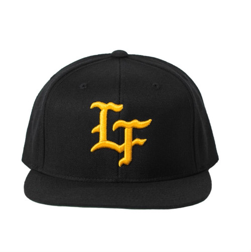 LIVE FIT Flagship Snapback-Black/Gold