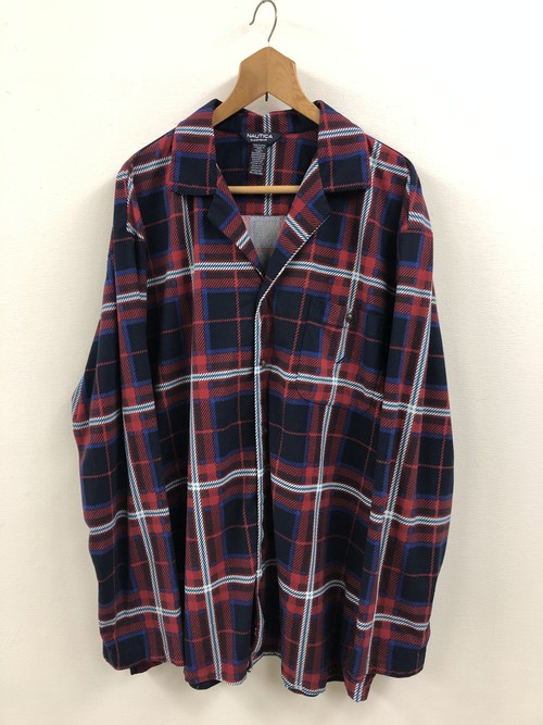 NAUTICA Plaid Flannel Pajama Shirt