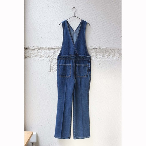 【CURRENTAGE】DENIM SALOPETTE