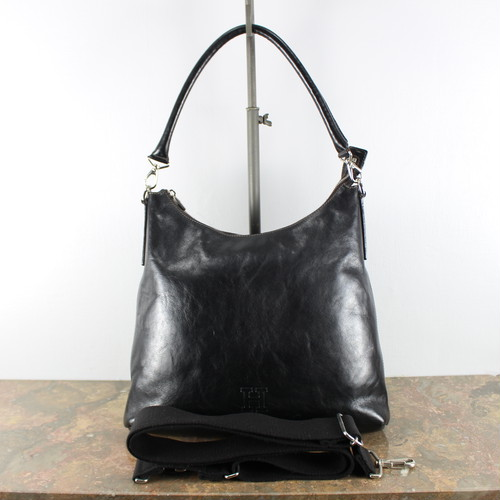 .HIROFU LOGO EMBOSSED LEATHER 2WAY SHOULDER BAG MADE IN ITALY/ヒロフロゴ型押しレザー2wayショルダーバッグ 2000000040738