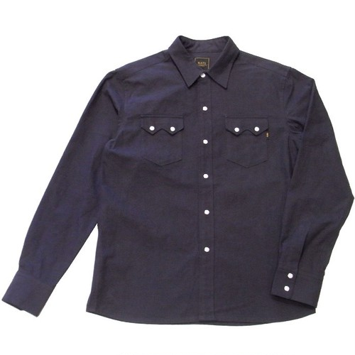 RATS(ラッツ) / SOLID FLANNEL WESTERN SHIRT(17'RS-1002)(長袖シャツ)