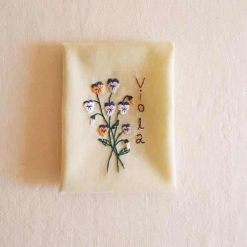 小さな庭【ビオラ】| Sunny Thread 刺繍キット