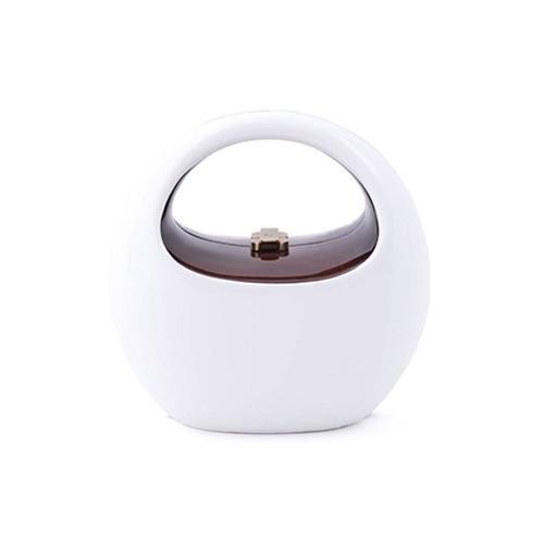 Coco Handbag - brilliant white