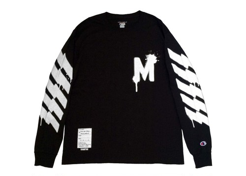 "[VIAMILAN] CHAMPION LONG SLEEVE ""SPRAY"""