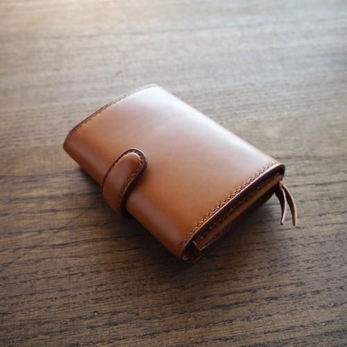 TETO 01 wallet Ⅰ /camel キャメル