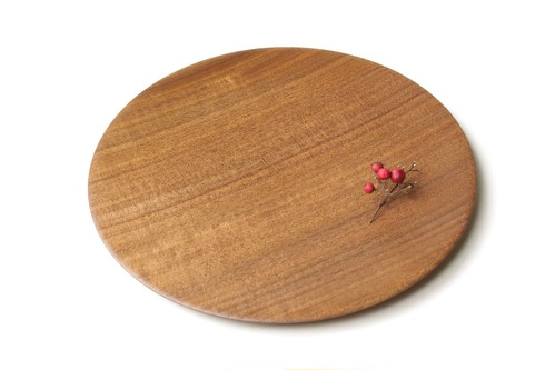 Black walnut plate 230mm