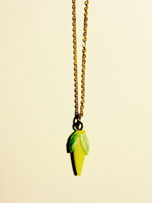 vintage corn necklace