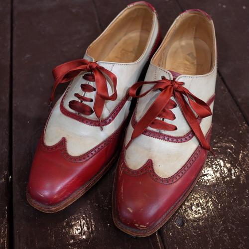 Crockett&Jones Wingtip leather shoes クロケット&ジョーンズ ウィングチップ フルブローグ レザーシューズ