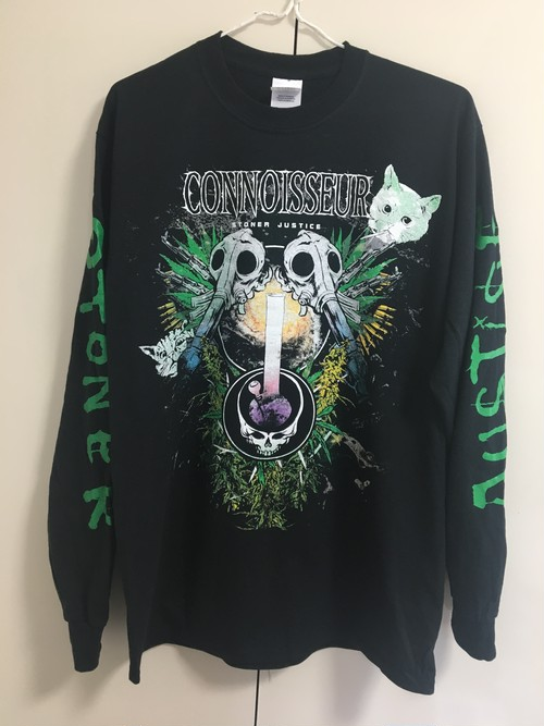 """CONNOISSEUR """"Stoner Justice 2015""""ロングスリーブ Tシャツ"""