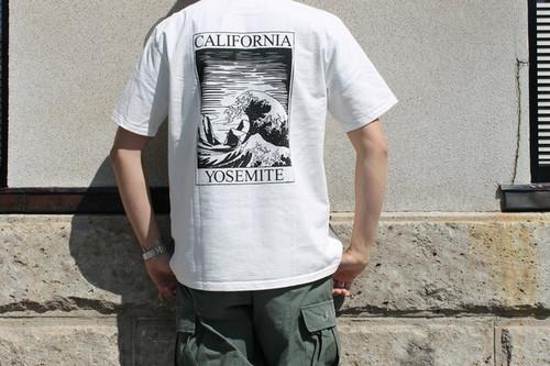 "CAL O LINE キャルオーライン / ""CALIFORNIA WAVE"" T - SHIRTS (MONOCHROME)"
