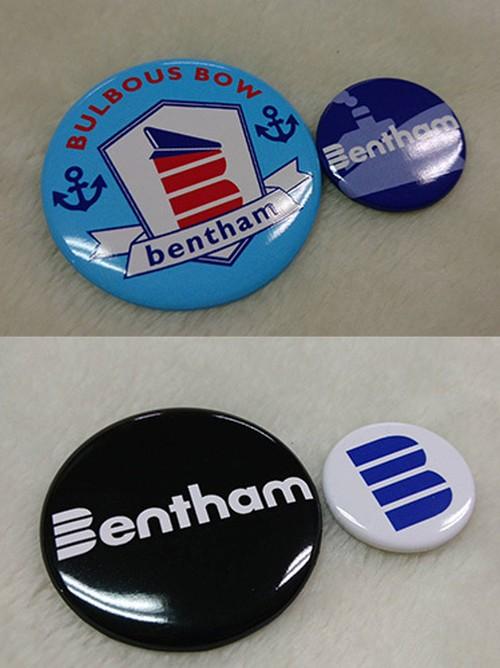 Bentham 缶バッジセット
