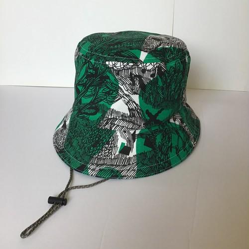 "Bucket Hat /""jungle here""G01 バケットハット"