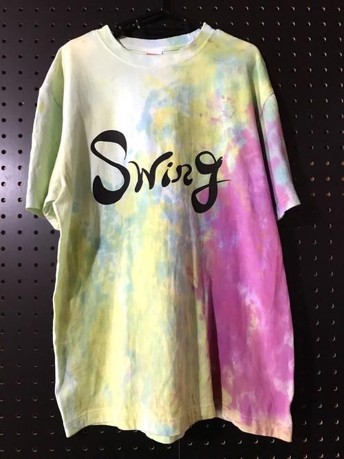 (L) Swing Tシャツ【タイダイ染め】