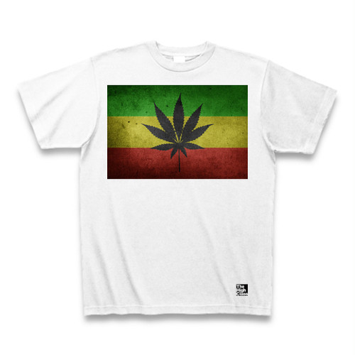 """Rasta and Leaf"" Tシャツ"