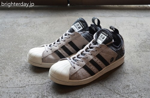 NEIGHBORHOOD × ABATHING APE × adidas SUPERSTAR BOOST NH BAPE