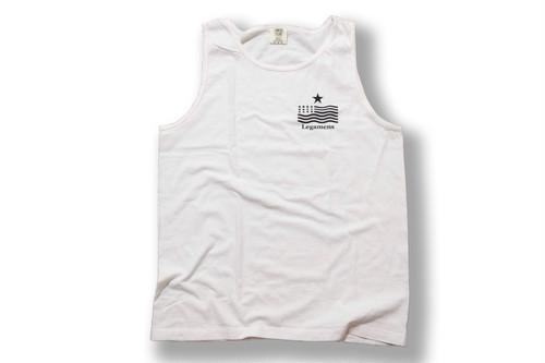 USA【vintage no-sleeve】/ white