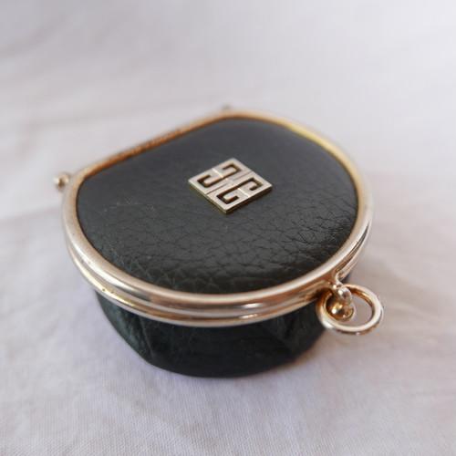 GIVENCHY Folded Coin Purse #01 -Dark Navy-