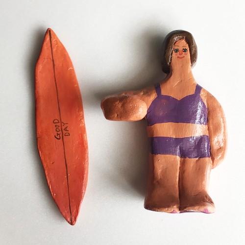 Surfing girl Doll 2