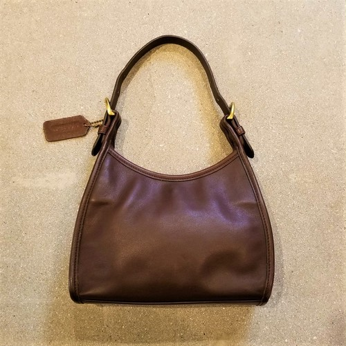 COACH leather hand bag /Made In USA [B-256]