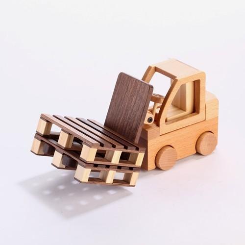 木製品 FORKLIFT PHONE HOLDER