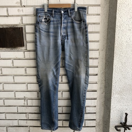 VINTAGE LEVI'S 501 66WS DENIM PANTS