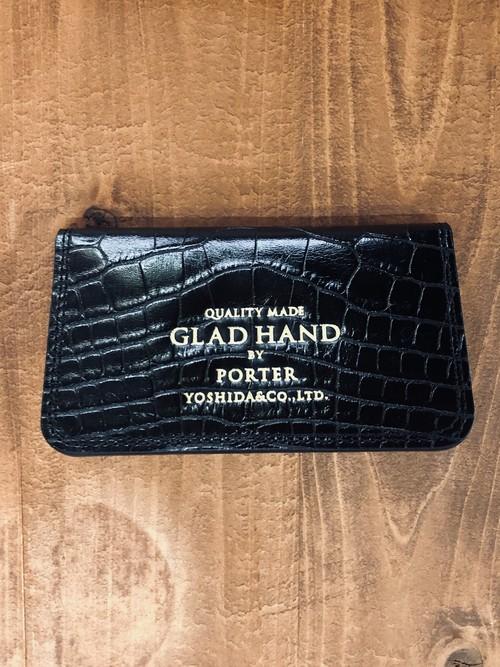"【GLADHAND × PORTER】GH - BElONGING CARD CACE ""CROCOLIKE"""