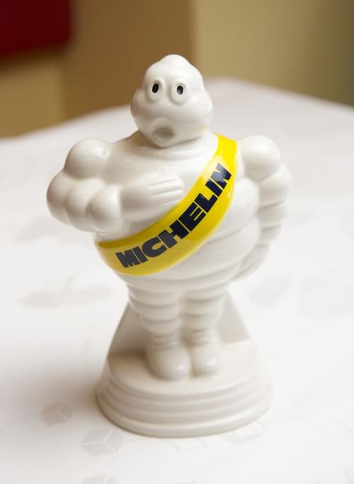 Tirelire Michelin 陶器製 『MICHELIN』貯金箱