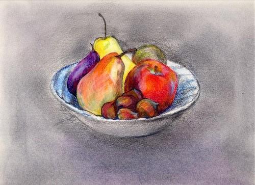 松原容子『果物』
