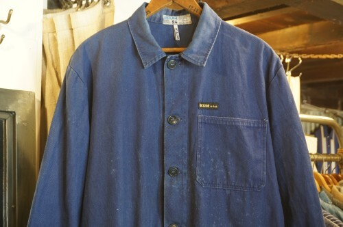 70's Kan Langer Mee cotton twill work Jacket