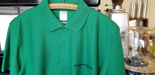 LIFEco polo shirt (size M)