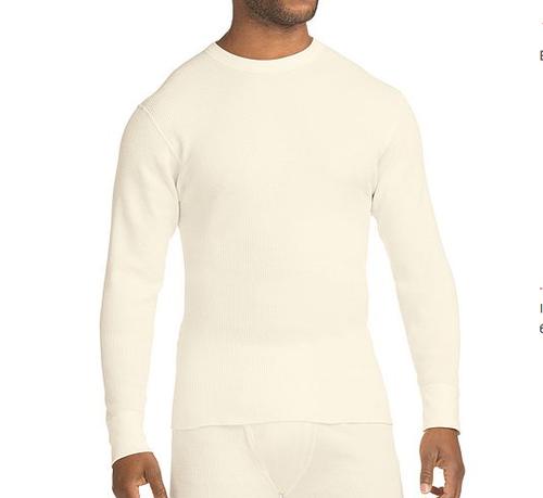 US企画 Hanes Beefy Men's Organic Cotton Thermal