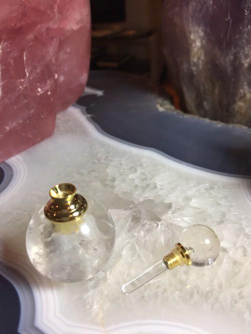 水晶アロマオイルパヒュームボトル 入れ na1130