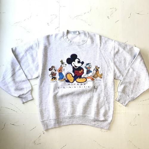 90s USA製 ディズニー スウェット トレーナー size M